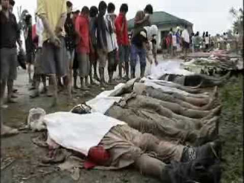 Dead casualties of typhoon Yolanda/haiyan in phillippines