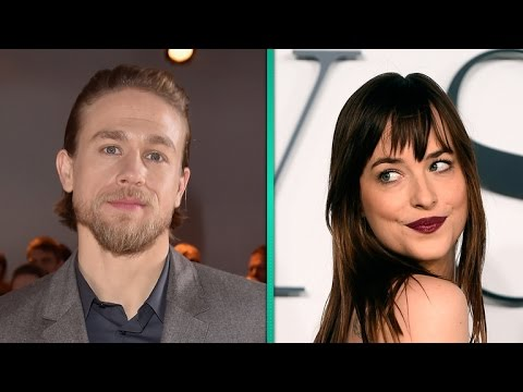 Dakota Johnson Reacts to Charlie Hunnam Leaving 'Fifty Shades of Grey': 'Whoops!'
