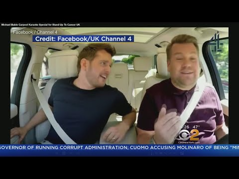 Sneak Peek: Michael Buble Tries Carpool Karaoke