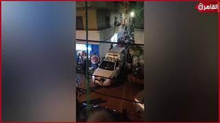 لحظة القبض على أحد المتهمين الهاربين من سجن طنطا العمومي