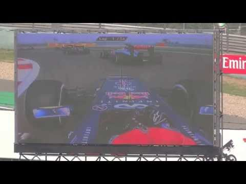 Formula 1 Shanghai International Circuit 2013 Start FullHD