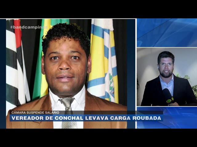 Câmara suspende salário: vereador de Conchal levava carga roubada