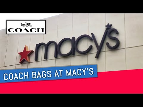 COACH BAGS AT MACY'S | BOXING DAY SHOPPING 2019