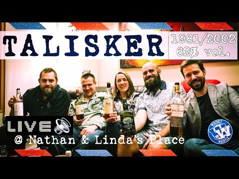 Talisker 81/02 Jim Murray 95 Points WhiskyWhistle LIVE