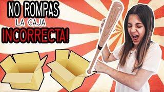 NO ROMPAS LA CAJA INCORRECTA - ROMPO MI MAQUILLAJE!! :(