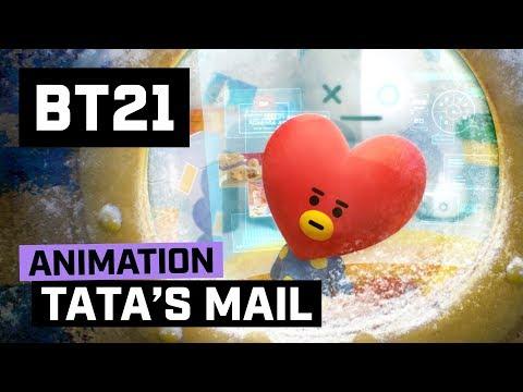 [BT21] Happy UNIVERSTAR Holidays - TATA's MAIL