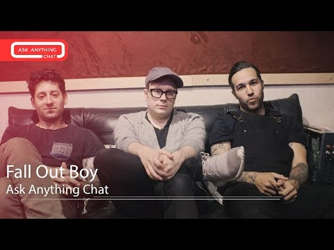 Fall Out Boy Talk About Criticism Of Young & Menace & Where's ANDY? Part 1
