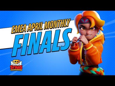Brawl Stars Championship 2021 - April Monthly Finals - EMEA - Brawl Stars esports