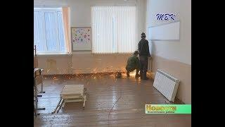В школе п  Степной меняют систему отопления, не прерывая занятий
