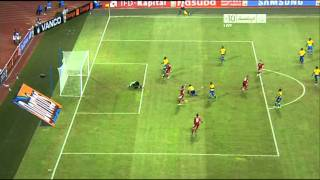 JSC sports Gabon vs Morocco 0.-1 by dallas