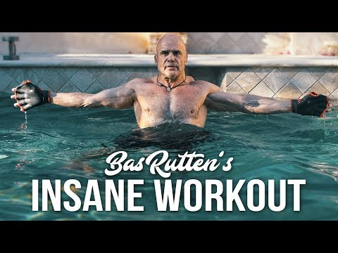 TRAIN LIKE A BEAST! EXCLUSIVE Bas Rutten Personal POOL Workout!