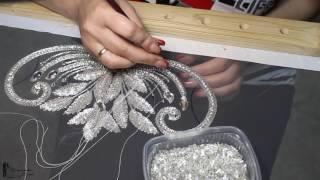 Люневильская вышивка. Отчёт для невесты  Июнь 2017