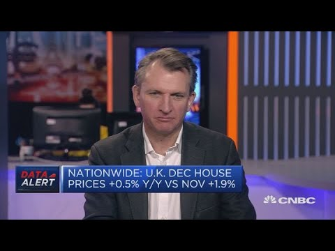 UK house prices grow at slowest pace in nearly six years: Nationwide | Squawk Box Europe
