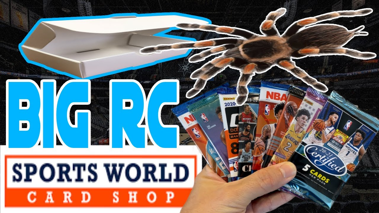 🔥 Most Packs I've Gotten! Sports World Card Shop Basketball Subscription Box! TOP RC! JA! And MORE!
