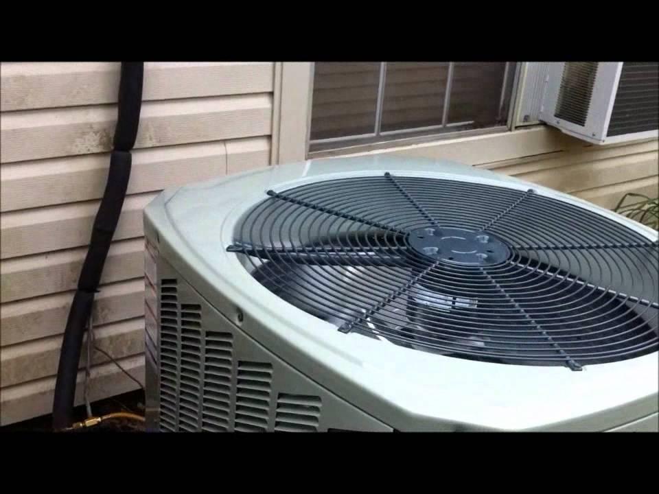 HVAC Install: 4 Ton Trane XB 13 Condenser & Evap Coil