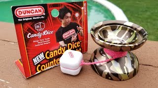 Duncan Candy Dice Unboxing and Review.  Duncan Counterweight review.