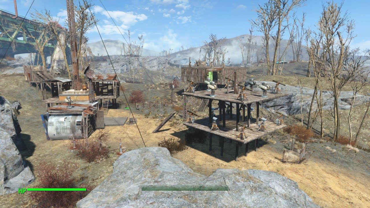 Fallout  Remove Stock Buildings