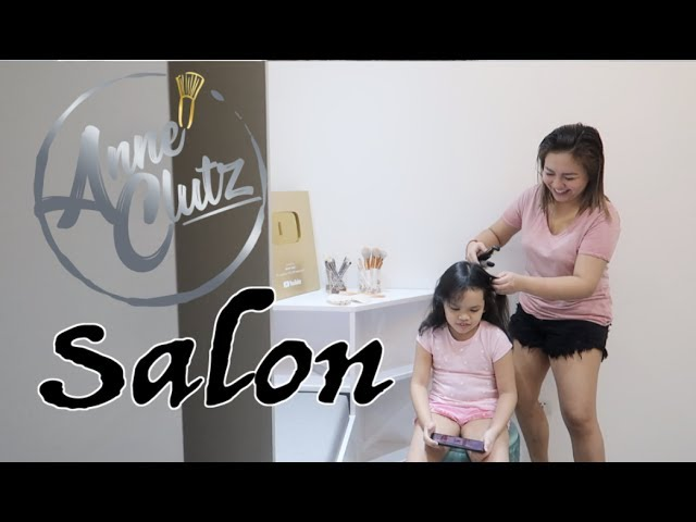 MAY SALON NA TAYO - anneclutzVLOGS