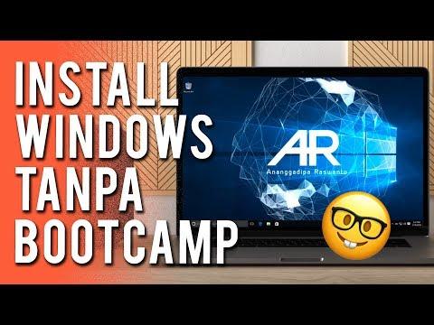 Cara Install Windows Tanpa Bootcamp 🤓 [Tutorial Lengkap]