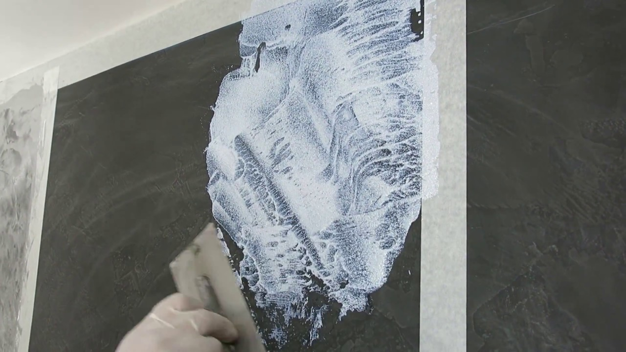 Pintura decorativa con efecto Purpurina  Arcocem Metal