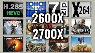 Ryzen 5 2600x vs Ryzen 7 2700x Test – 13 Benchmarks in 2019