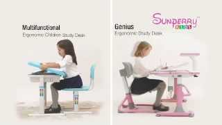 Sunperry Kids Ergonomic Study Desk (mandarin Version)