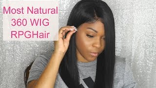 Most Affordable/ Natural Pre-Plucked 360 Lace Wig | Rpghair.com
