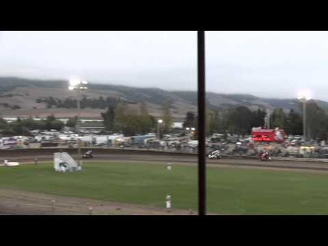 "Dominic Scelzi 8/25/12 Ocean Speedway Watsonville ""Johnny Key"" Dash"