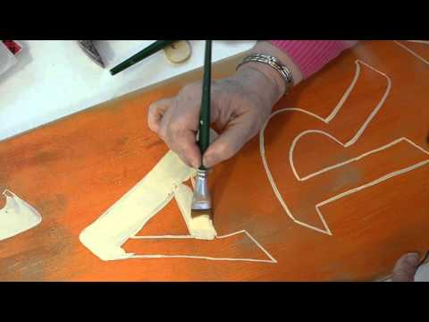 How to Hand Paint Lettering for Custom Signs 3