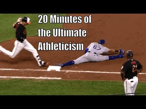 MLB Unbelievably Athletic Plays Supercut