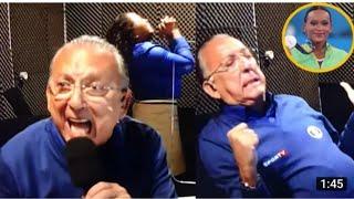 Reações de Galvão Bueno na cabine de transmissão da final da Ginástica Artísticanas Olimpíadas