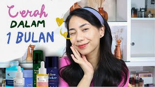 Skincare-an Bareng! | full review skincare Somethinc (CERAH DALAM 1 BULAN!) Skincare aman Busui