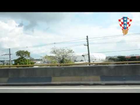 Dolazak hrvatske reprezentacije u Manaus