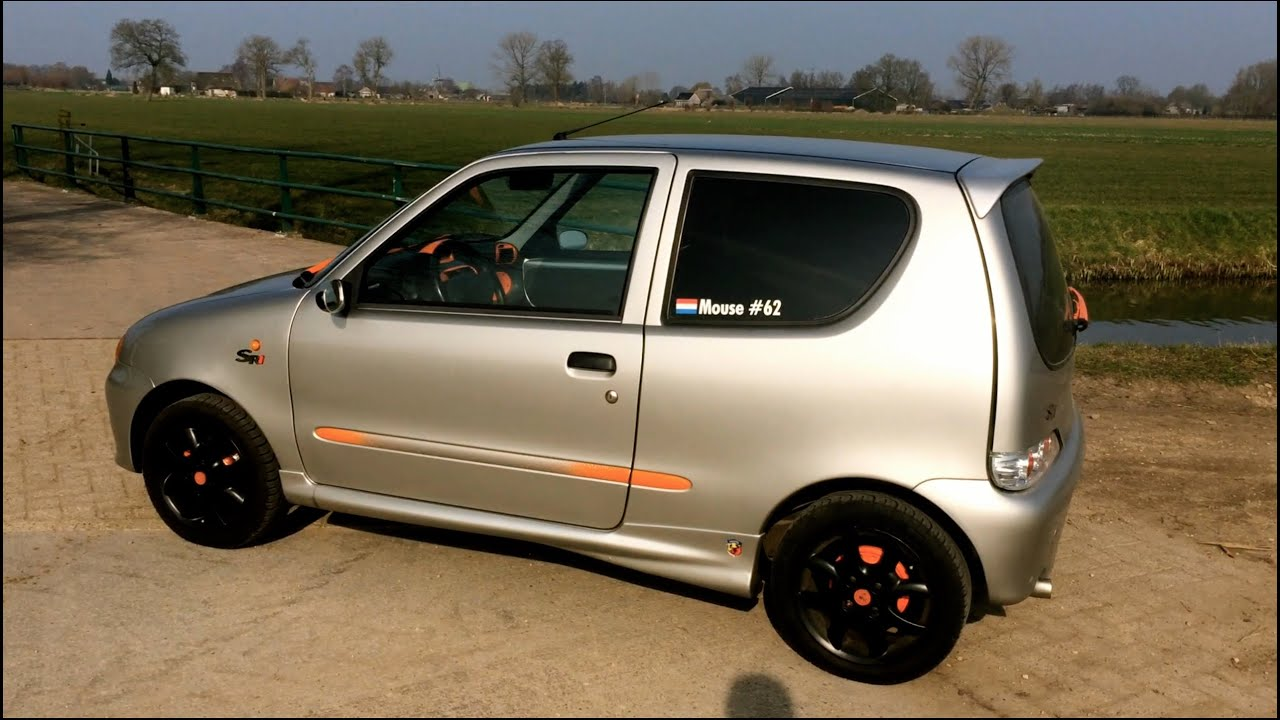 Tuned Modified Tuning Fiat Seicento Abarth Racing Muffler