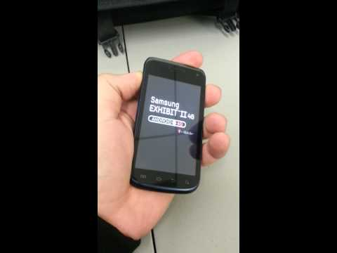 How to Hard Reset T-Mobile Samsung Exhibit 2 4G T679 Android 4.0 Remove Password