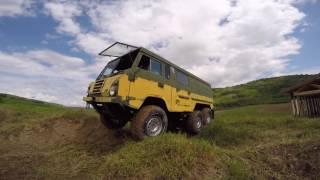 """theBrake"" - tigerexped Volvo TBG C30x disc brake conversion, final offroad test"