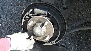 Remplacer des freins arrières & cylindre de roue et purger le circuit