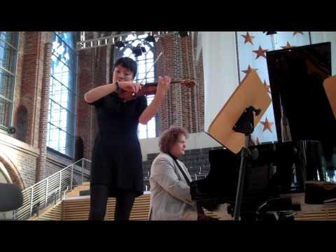 Mira Wang und Stefan Malzew im Duett