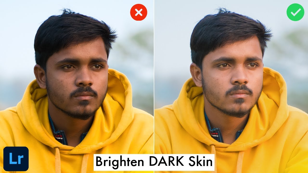 How to CLEAN and BRIGHTEN your SKIN in Lightroom CC mobile