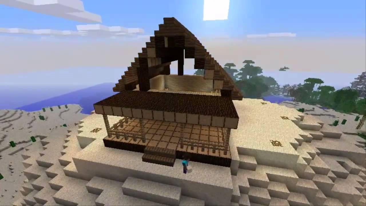 Minecraft 6 1 como hacer una casa en c mara r pida time for Como hacer una casa clasica en minecraft