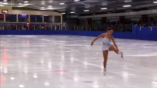 Jeux du Québec – 2017 02 26 – Patinage Artistique Prénovice Femme  0