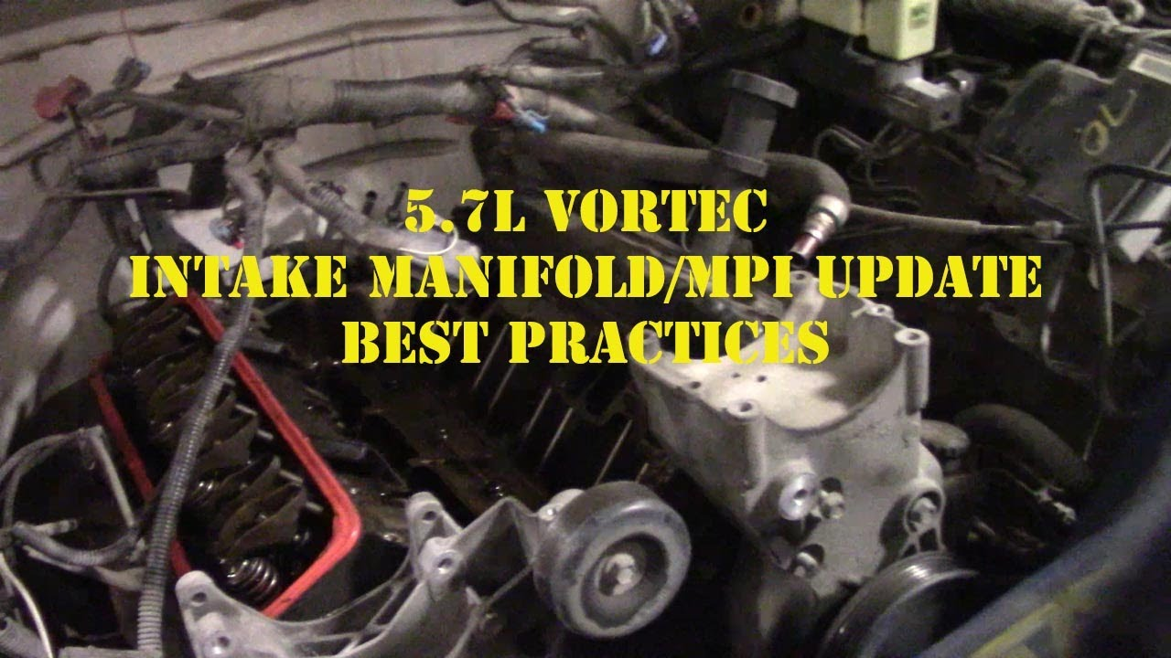 Chevy Vortec 5.7L Intake Manifold Gaskets MPI Fuel ...