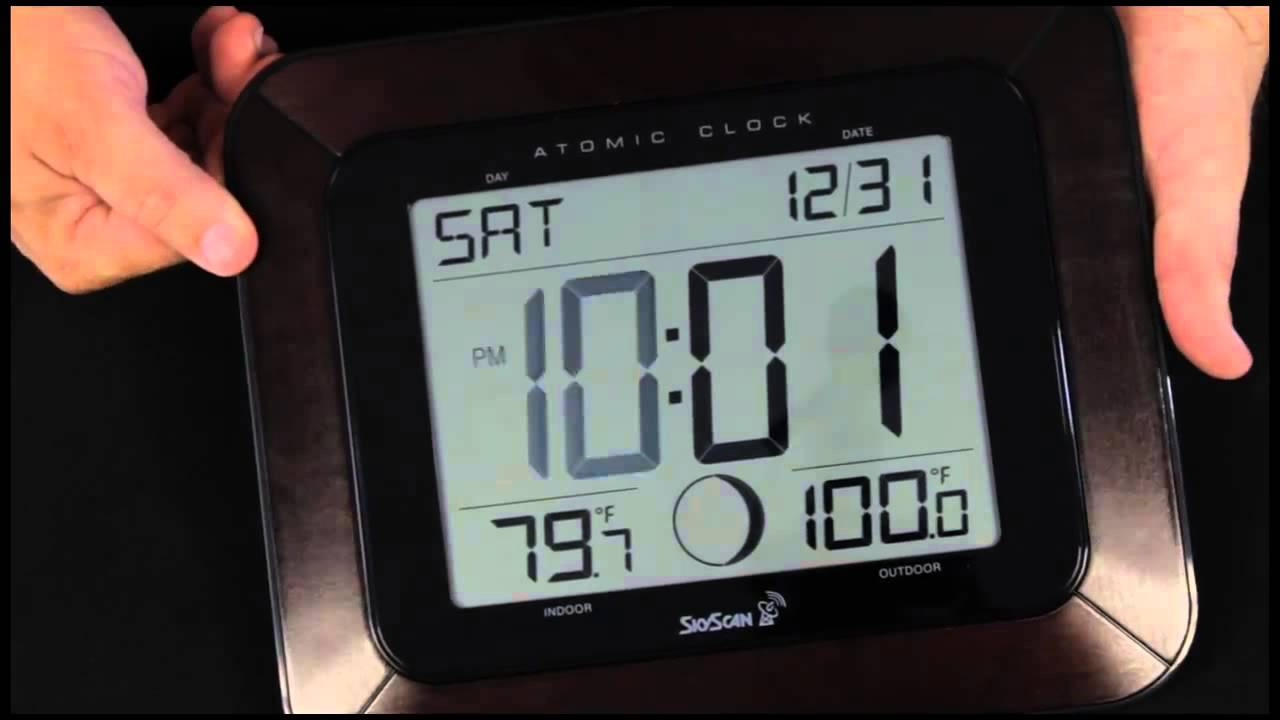 Skyscan 88901 atomic clock youtube amipublicfo Choice Image