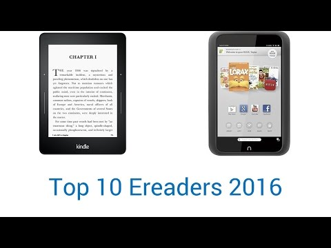 10 Best E-Readers 2016