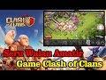 Bermain Game Android Clash Of Clans Versi Amatiran