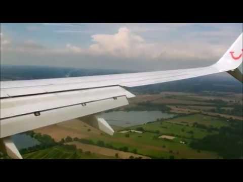 ✈TRIPREPORT Heraklion ✈ Hannover ✈ TUIfly 737-800 Split Scimitar!!!