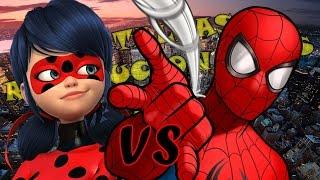 Ladybug VS Spider-Man l Batallas Revolucionarias Rap l Especial de San Valentin l T3