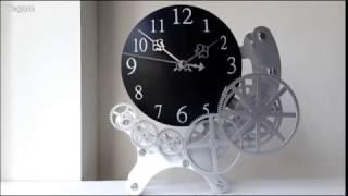 태엽모양 시계 (벽,탁상겸용)