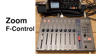 Zoom F-Control for F4 & F8 Overview