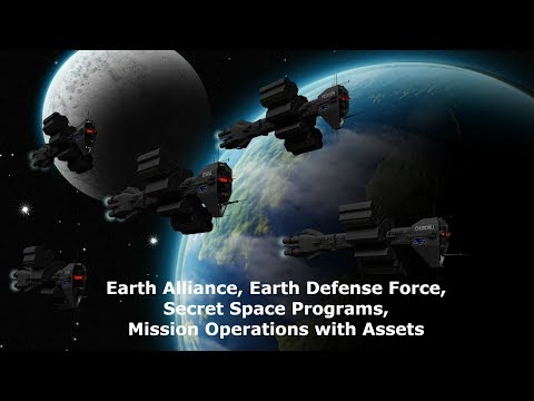 Earth Alliance, Earth Defense Force, Secret Space Programs, Mission Operations with Assets